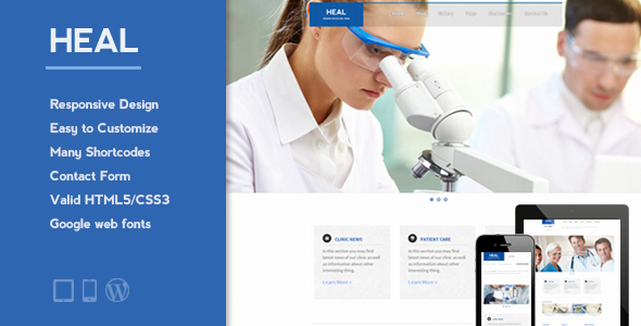 HEAL Responsive Medical Theme