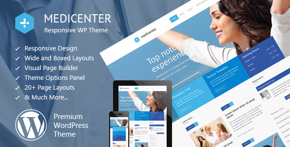 MediCenter Responsive Medical Theme