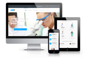 OS MedBro Joomla Medical Template