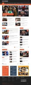 Dailynews – Joomla Magazine  / News Content Template
