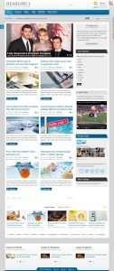 IT HeadLine 3 – Joomla Magazine / News Based Template