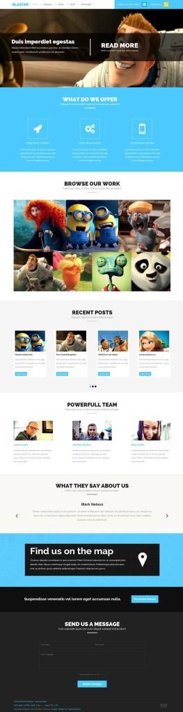 Blaster Joomla Media Business Template