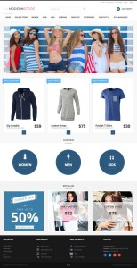 JM Modern Store Joomla Template for Cloth Shops