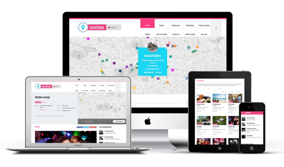 Locations WordPress Directory Theme