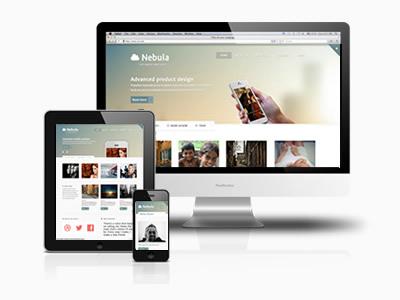 Nebula Responsive Joomla Business App Template
