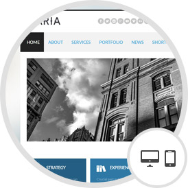 RSAria – Responsive Joomla Template With a Minimalist Design