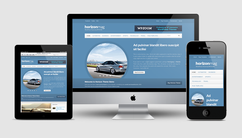 Horizon Magazine WordPress Theme