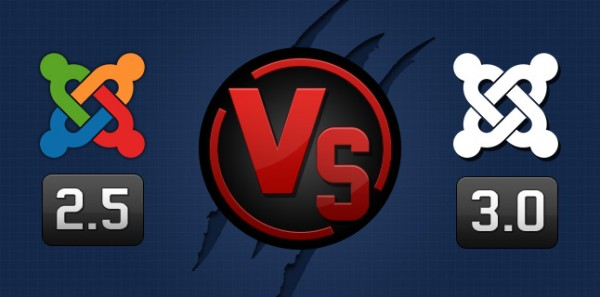 Joomla 2.5 vs Joomla 3.0 Difference