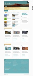 Portal Joomla Minimal Template for News Portal / Magazine