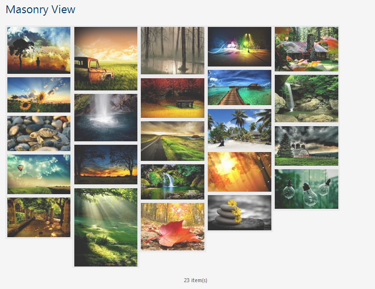 Photo Gallery WP Plugin