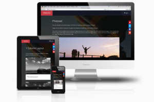 Presto Joomla Ajax Based Drag & Drop Gallery Template