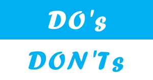14 Do's and Don'ts to Consider when Designing Your Website!