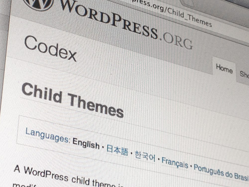 WordPress Codex Themes