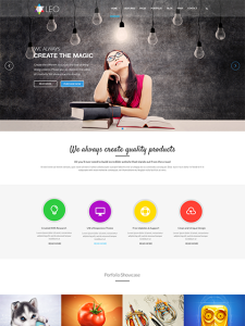 ZT Leo Joomla Template for Creative Designers & Photographers