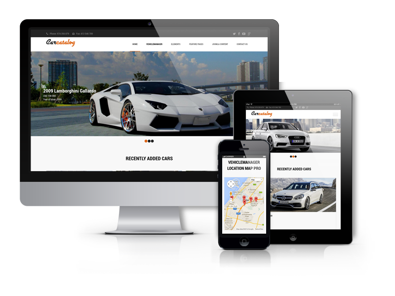 car catalog joomla template for auto dealership private auto dealers. Black Bedroom Furniture Sets. Home Design Ideas