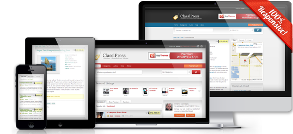 ClassiPress Responsive WordPress Classified Theme