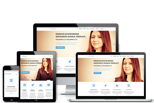 LT Business Joomla Responsive Corporate Template