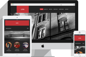 RSLens Joomla Template for Events / Wedding Photography Showcase