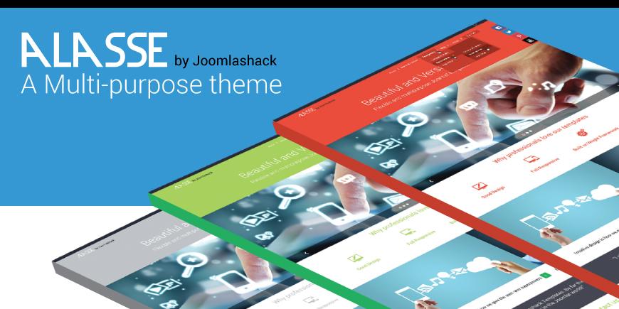 Alasse Joomla Modern Corporate Template