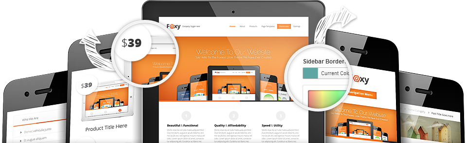 Foxy Responsive WordPress All-in-One eCommerce Theme