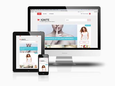 Ignite Joomla eCommerce Template