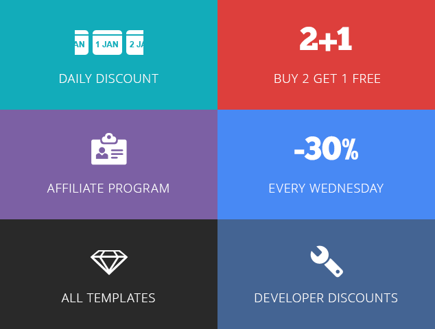Daily Discount & Promotions (Buy 2 Get 1 Free) – Joomla Monster