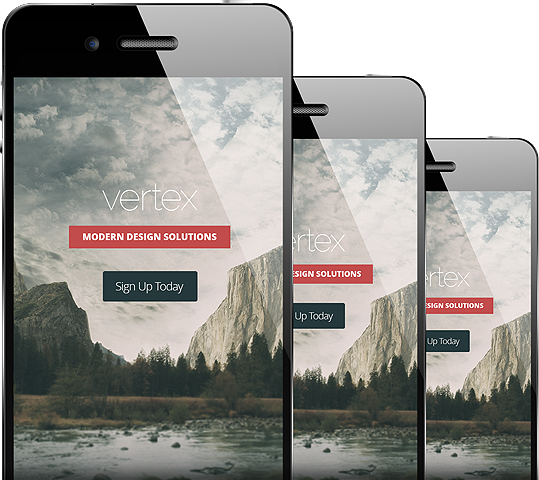 Vertex Responsive WordPress Business Service Theme