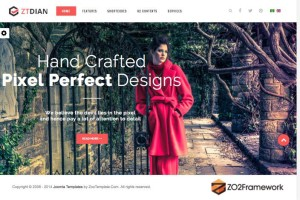 ZT Dian Joomla Template for Creative Photographers