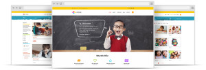 ZT Four Joomla Template for School, Kindergarten or Kids Shop