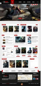 ZT Movie Joomla Template for Film, TV, Movie Store or Videographers