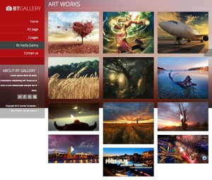BT Gallery Joomla Template for Photography & Creative Business