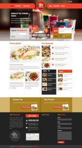 BT Restaurant Joomla Template for Hotel / Coffee Shop Owners