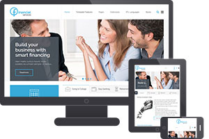 JM Financial Services Joomla Insurance Template