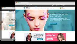 ZT MelanoShop Joomla Store Template