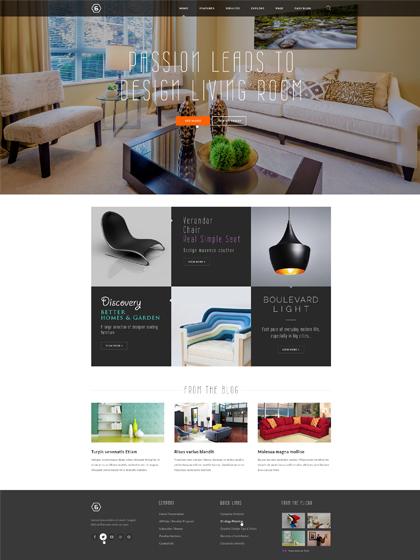 ZT Six Responsive Joomla Portfolio Showcase Template