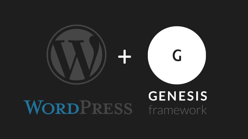 wordpress-genesis-framework