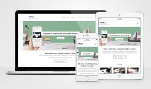 Angle Responsive WordPress Portfolio Theme