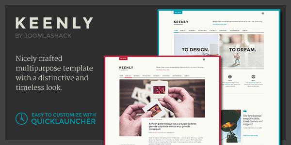 Keenly Joomla Multipurpose Template