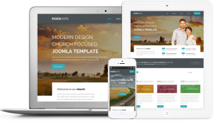 Risen Hope Joomla Modern Church Focused Template
