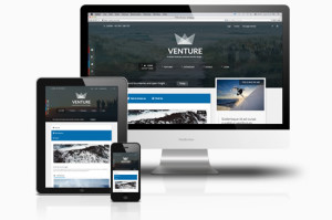 Venture Joomla Template for Magazine / News / Business Design!