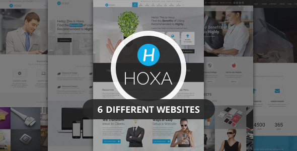 Hoxa Professional Joomla Commercial Template