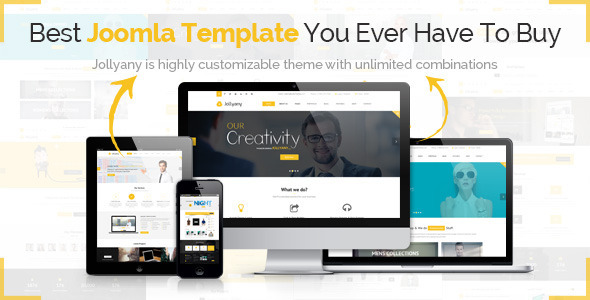 Jollyany Highly Customizable Joomla Template
