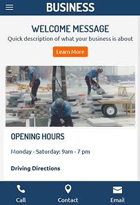 SmallBiz Responsive WordPress Business Services Theme
