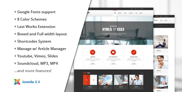 Stability Joomla Business Template