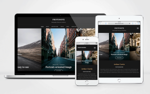 PhotoNote 2.0 WordPress Photographers Theme