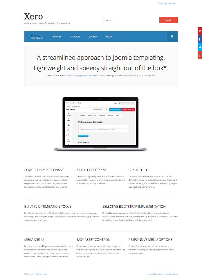 Seo friendly joomla template seo joomla ugolcd php html projects for 30 250 simple seo and social media optimization on basic website sandraopines pronofoot35fo Images