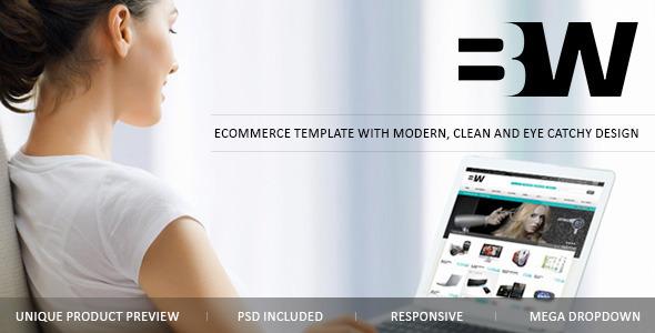 B&W Magento eCommerce theme