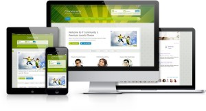 IT Community 3 Joomla Socialize Template for Fun & Enjoyment