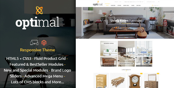 Optimal Magento Responsive Theme
