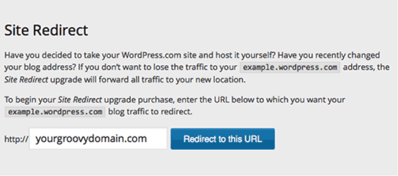 Now Just redirect your site